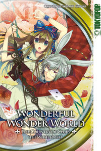 Wonderful Wonder World - The Country of Clubs - White Rabbit 1 - Klickt hier für die große Abbildung zur Rezension
