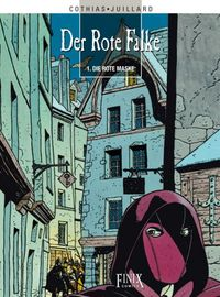 Der rote Falke 1: Die rote Maske - Klickt hier für die große Abbildung zur Rezension
