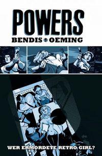 Powers 1: Wer ermordete Retro Girl? - Klickt hier für die große Abbildung zur Rezension