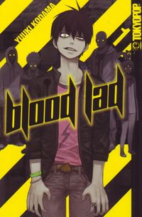 Blood Lad 1 - Klickt hier für die große Abbildung zur Rezension