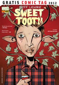 Sweet Tooth - Gratis Comic Tag 2012 - Klickt hier für die große Abbildung zur Rezension