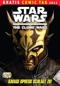 Star Wars - The Clone Wars - Gratis Comic Tag 2012 - Klickt hier für die große Abbildung zur Rezension