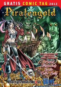 Piratengold - Gratis Comic Tag 2012 - Klickt hier für die große Abbildung zur Rezension