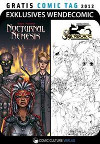 Nocturnal Nemesis / Grimoire - Gratis Comic Tag 2012 - Klickt hier für die große Abbildung zur Rezension