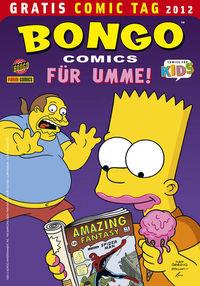 Bongo Comics für umme - Gratis Comic Tag 2012 - Klickt hier für die große Abbildung zur Rezension