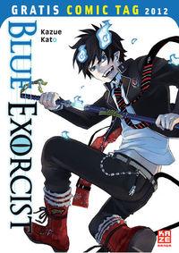 Blue Exorcist - Gratis-Comic-Tag 2012 - Klickt hier für die große Abbildung zur Rezension