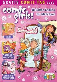 Comic Girls - Gratis Comic Tag 2012 - Klickt hier für die große Abbildung zur Rezension