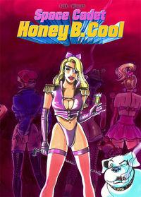 Amok Cosmos 1: Honey B. Cool - Space Cadet  - Klickt hier für die große Abbildung zur Rezension