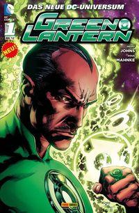 Green Lantern 1 - Klickt hier für die große Abbildung zur Rezension