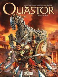 Quästor 1: Menage á Troja - Klickt hier für die große Abbildung zur Rezension