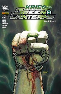 Green Lantern Sonderband 30: Krieg der Green Lanterns 3 - Klickt hier für die große Abbildung zur Rezension