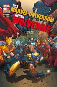 Das Marvel-Universum gegen Wolverine 1 - Klickt hier für die große Abbildung zur Rezension