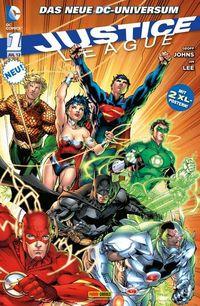 Justice League 1 - Klickt hier für die große Abbildung zur Rezension