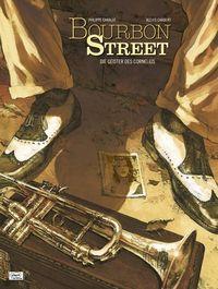 Bourbon Street 1: Die Geister des Cornelius - Klickt hier für die große Abbildung zur Rezension