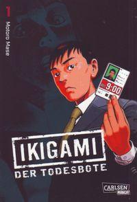 Ikigami - Der Todesbote 1 - Klickt hier für die große Abbildung zur Rezension