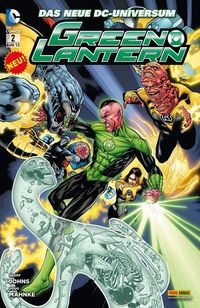 Green Lantern 2 - Klickt hier für die große Abbildung zur Rezension