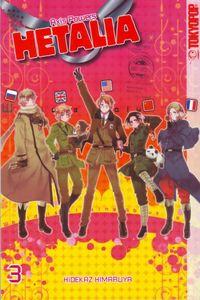 Hetalia - Axis Powers 3 - Klickt hier für die große Abbildung zur Rezension