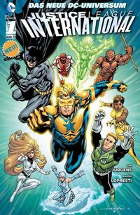 Justice League International 1: Die Wächter - Klickt hier für die große Abbildung zur Rezension