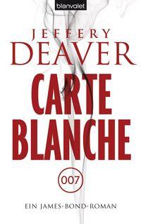 Carte Blanche: Ein James-Bond-Roman - Klickt hier für die große Abbildung zur Rezension