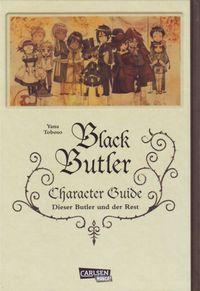 Black Butler Character Guide - Klickt hier für die große Abbildung zur Rezension
