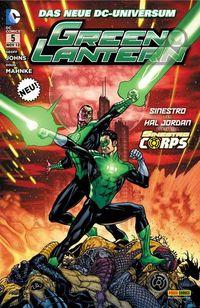 Green Lantern 5 - Klickt hier für die große Abbildung zur Rezension