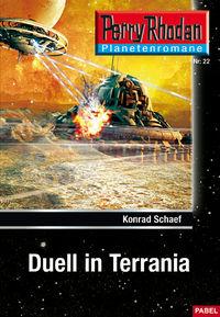 Perry Rhodan Taschenheft 22: Duell in Terrania - Klickt hier für die große Abbildung zur Rezension