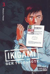 Ikigami - Der Todesbote 3 - Klickt hier für die große Abbildung zur Rezension