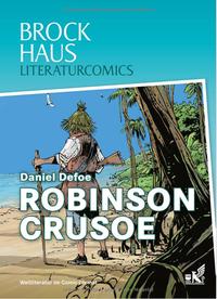 Brockhaus Literaturcomics: Robinson Crusoe - Klickt hier für die große Abbildung zur Rezension
