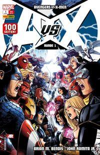 Avengers vs. X-Men 1 - Klickt hier für die große Abbildung zur Rezension