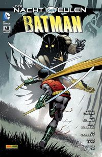 Batman Sonderband 40: Die Nacht Der Eulen - Klickt hier für die große Abbildung zur Rezension