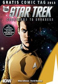 Gratis Comic Tag 2013: Star Trek: Countdown to Darkness - Klickt hier für die große Abbildung zur Rezension