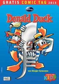Gratis Comic Tag 2013: Donald Duck - Klickt hier für die große Abbildung zur Rezension