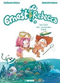 Ernest & Rebecca 4:  Das Land der wandernden Kiesel - Klickt hier für die große Abbildung zur Rezension