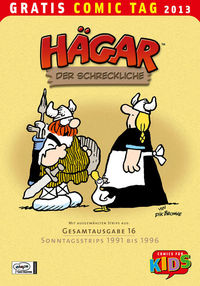 Gratis Comic Tag 2013: Hägar - Klickt hier für die große Abbildung zur Rezension