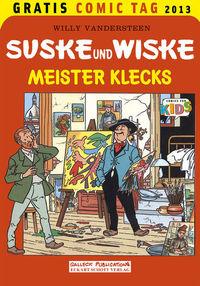 Gratis Comic Tag 2013: Suske und Wiske: Meister Klecks - Klickt hier für die große Abbildung zur Rezension
