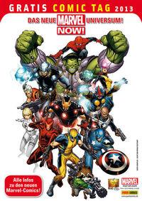 Gratis Comic Tag 2013: Marvel Now - Klickt hier für die große Abbildung zur Rezension