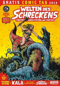 Gratis Comics Tag 2013: Welten des Schreckens - Klickt hier für die große Abbildung zur Rezension