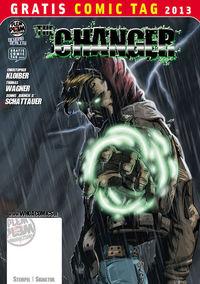 Gratis Comic Tag 2013: The Changer - Klickt hier für die große Abbildung zur Rezension