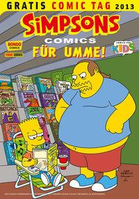 Gratis Comic Tag 2013: Simpsons Comics für Umme - Klickt hier für die große Abbildung zur Rezension