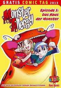 Gratis Comic Tag 2013: Monster Allergy - Klickt hier für die große Abbildung zur Rezension