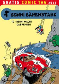 Gratis Comic Tag 2013: Benni Bärenstark 10: Benni macht das Rennen  - Klickt hier für die große Abbildung zur Rezension