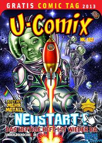 Gratis Comic Tag 2013: U-Comix - Klickt hier für die große Abbildung zur Rezension