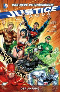 Justice League 1: Der Anfang - Klickt hier für die große Abbildung zur Rezension