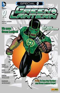 Green Lantern Special 0 - Klickt hier für die große Abbildung zur Rezension