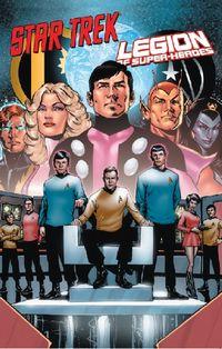Star Trek / Legion of Super-Heroes - Klickt hier für die große Abbildung zur Rezension