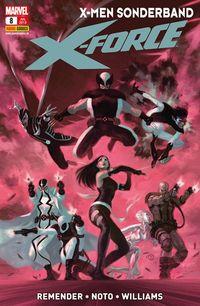 X-Men Sonderband: Die neue X-Force 8 - Klickt hier für die große Abbildung zur Rezension