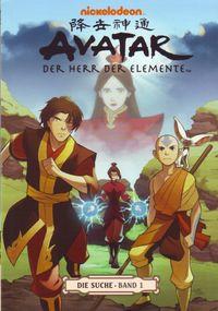 Avatar: Der Herr der Elemente Band 5: Die Suche 1 - Klickt hier für die große Abbildung zur Rezension