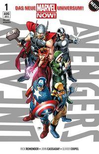 Uncanny Avengers 1 - Klickt hier für die große Abbildung zur Rezension