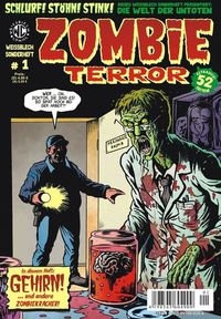 Weissblech Sonderheft 1: Zombieterror - Klickt hier für die große Abbildung zur Rezension