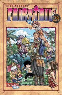 Fairy Tail 28 - Klickt hier für die große Abbildung zur Rezension